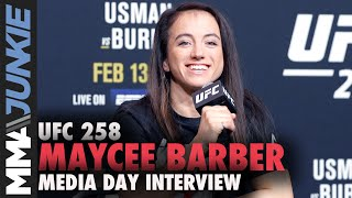Maycee Barber unfazed by haters following first loss | UFC 258 interview