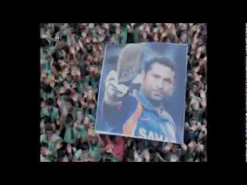 Sachin Tendulkar (farewell song)..... Hai Hame Naaj Jis Par