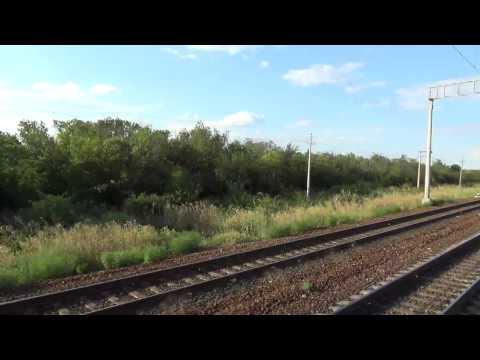 РЖД поезд 464 Лихая отправление 23 часть