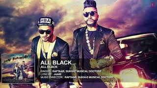 All Black - Sukh-E Ft. Raftaar - Original Karaoke