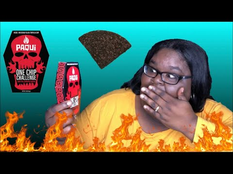 Paqui's NEW & HOTTER🔥One Chip Challenge 🌶 World's Hottest Chip