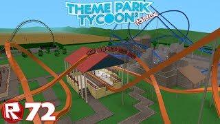 Roblox-episódio 72 | Theme Park Tycoon 2-Temple de L' airtime/FR