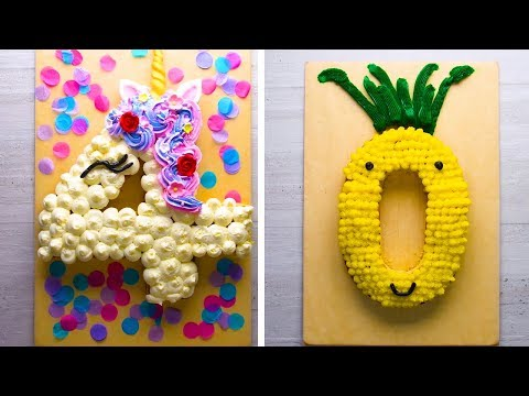 Countdown With Cakes! Easy Cutting Hacks For Cool Number Cakes! | Cake Design Hacks By So Yummy