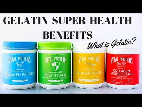 Gelatin Health Benefits - Wonderful Dietary Supplement for you and your family wellness.