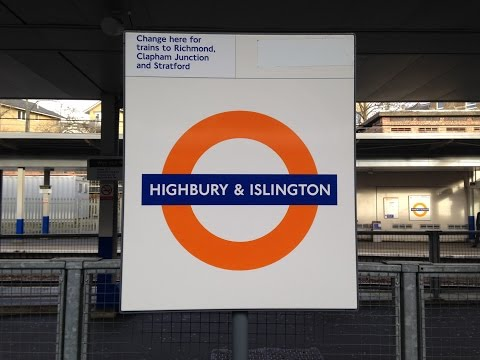 Full Journey on London Overground from Highbury & Islington to Clapham Junction (via Surrey Quays)