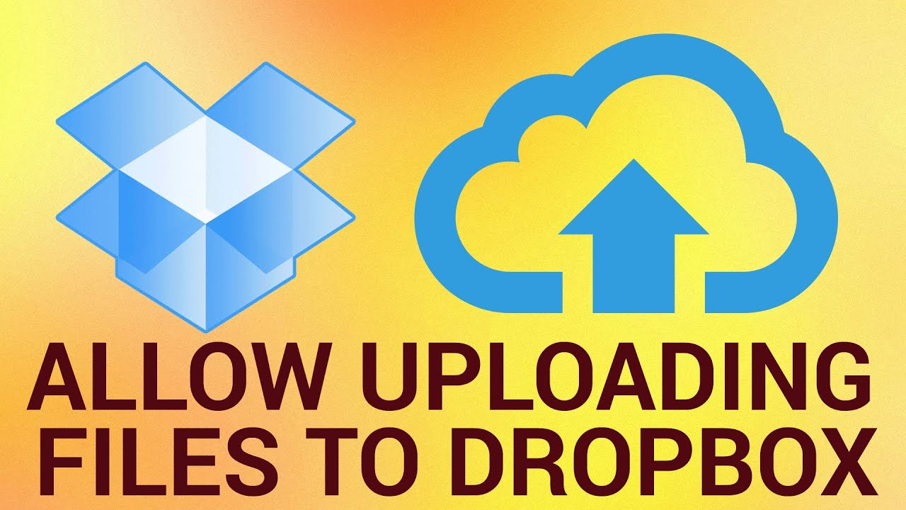 How to Allow Friends to Upload Files into Your Dropbox