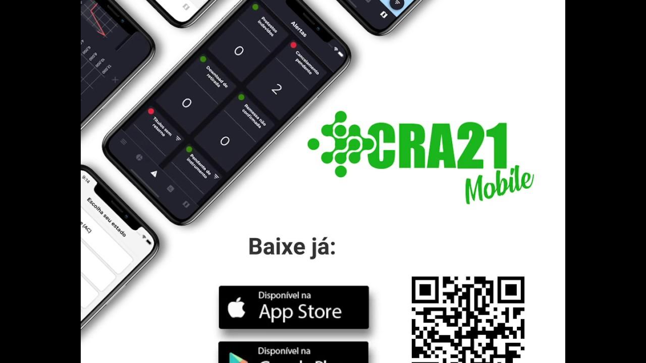 Aplicativo CRA21 Mobile fornece gráficos estatísticos de forma prática
