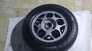 Restauração da roda colmeia estepe do monza 567 parte 2 - Garage Cars Films