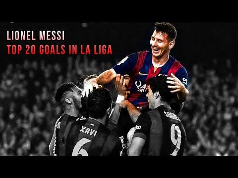 Lionel messi - top 20 goals in la liga 2004-2014   hd