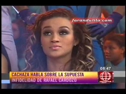 """Al Aire: Cachaza """"Si paso algo entre Rafael Cardozo y Tilsa Lozano quedo atras"""" [08-04-2016]"""