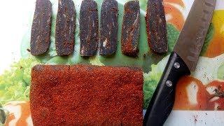 Бастурма Рулет из говядины - Эксклюзивный рецепт вяленого мяса
