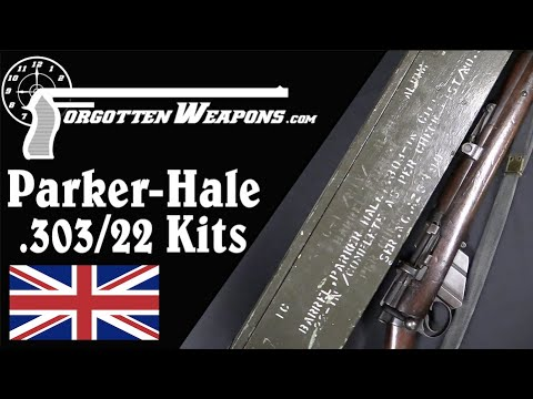 Parker-Hale .303-.22 Conversion Kits for the Enfield, Lewis, and Vickers