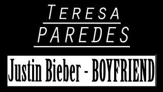 Teresa Paredes - Boyfriend (acoustic cover)