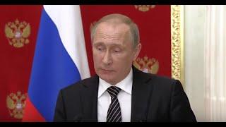 В.Путин о попытке диверсий в Крыму: Украина перешла к террору. 10.08.16