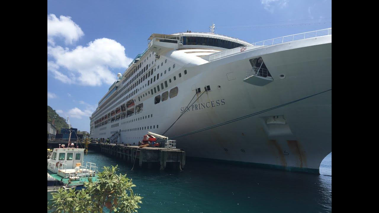 Leaving Brisbane On The Sun Princess Cruise Ship  YouTube