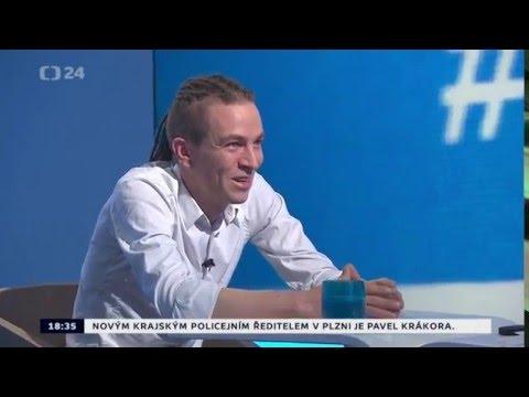 Interview ČT 24 - Bartoš is back in black (teda white)