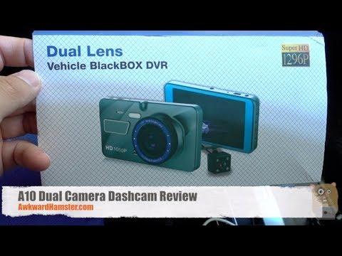 A10 Dual Camera Dashcam Review