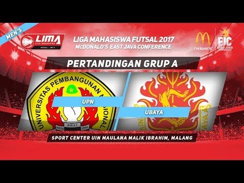UPN vs UBAYA di LIMA Futsal McDonald's East Java Conference 2017 (Men's)