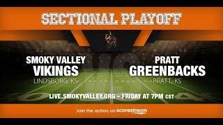 SVHS Varsity Football vs Pratt High School (Sectional Playoff)