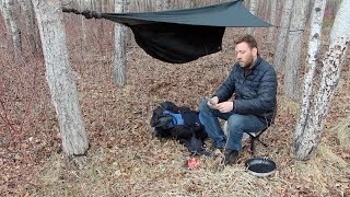 Hennessy Hammock - Primus Stove, Burgers In The Forest