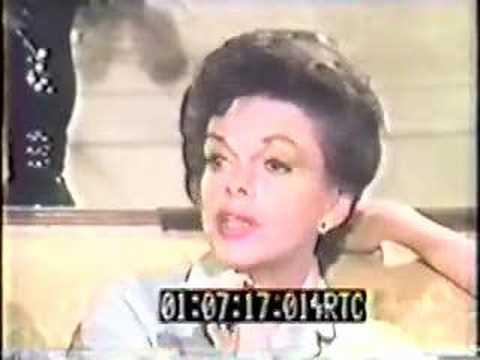Judy Garland dispels those nasty addiction rumors