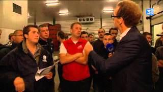 Crise agricole : les éleveurs contrôlent des entrepôts frigorifiques