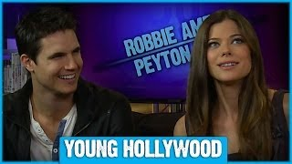 "Inside the Minds of ""Tomorrow People"" Robbie Amell & Peyton List"