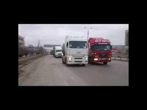 """Дальнобой """"Улитка"""" Акция Волгоград 19 11 2015"""