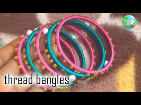 Thread bangles | Silk Thread bangles | Suchi Planet