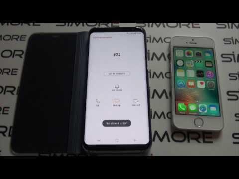 Samsung Galaxy S8+ Adattatore Doppia SIM Android 4G per Galaxy S8+ - SIMore ZX-Twin-Galaxy S8+
