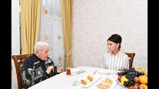 Первый вице президент Мехрибан Алиева побывала в гостях у народного артиста Алибабы Мамедова