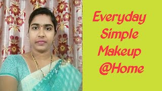 #makeup #beautytips  My Everyday Simple Makeup Look @Home