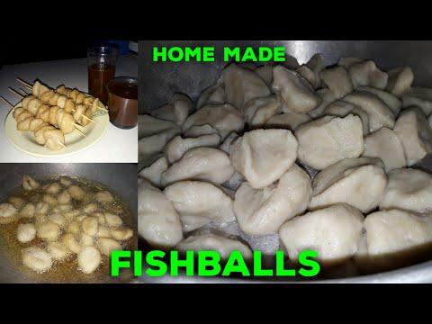 Fishballs | HOME MADE FISHBALLS | Paano Gumawa Ng Fishballs | Authentic Fishballs | STEP BY STEP