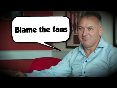 STEWART DONALD BLAMES FANS FOR EVERYTHING!
