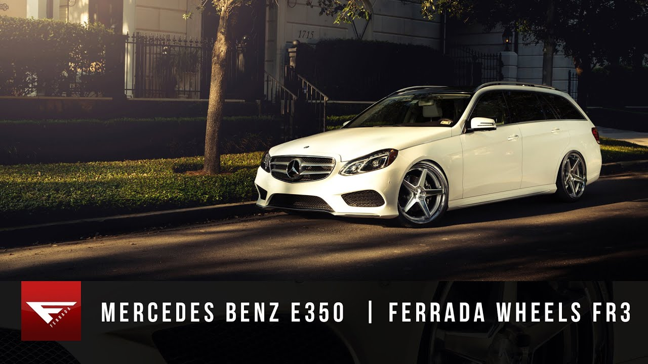 2015 mercedes benz e350 station wagon | ferrada wheels fr3 - youtube