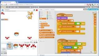 Reverse Gravity Game Invent With Scratch 2 0 Screencast