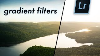 Tips for using the GRADIENT FILTER in LIGHTROOM