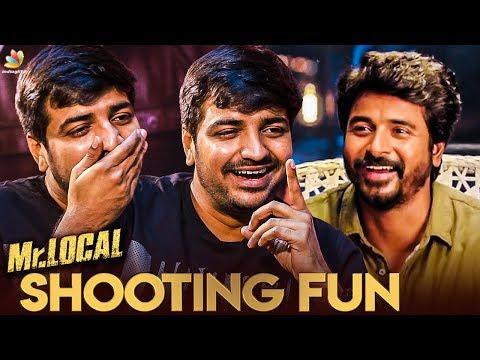 Full Fun with Sivakarthikeyan at Mr. LOCAL Sets : Sathish Reveals   Atharvaa Interview   Boomerang