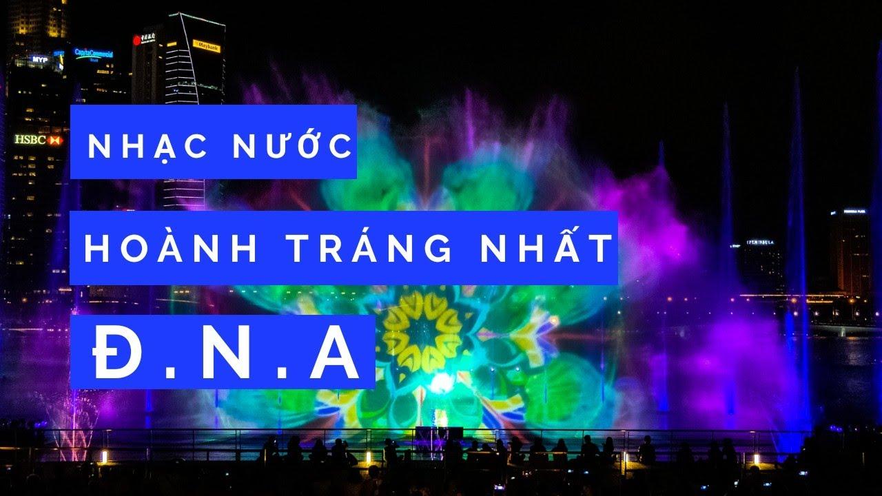 DU LỊCH SINGAPORE ▶ Xem show laze nhạc nước hoành tránh nhất ĐNA tại vịnh Marina