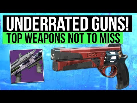 Destiny 2 | Top Underrated Weapons in The Game! (Awesome PvP / PvE Weapons)