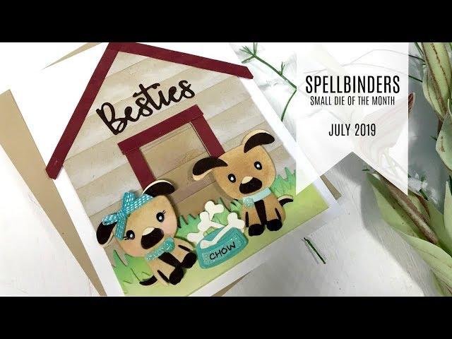 Spellbinders – Small Die of the Month Club Kit – July 2019 | Cards