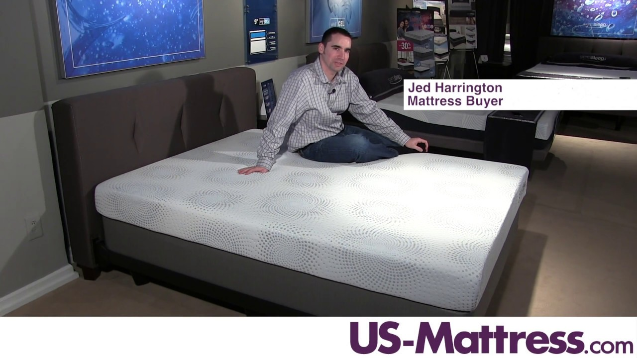 sierra sleep by ashley mygel 7 inch mattress expert review