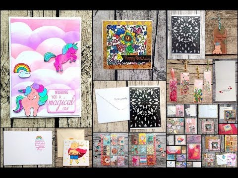 Card & Papercraft Share Videos #4  Canvases  Pocket