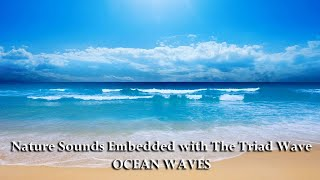 Ocean Waves embedded with The Triad Wave