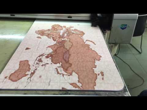 Yoga mat printing video, Epson printer