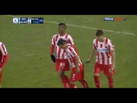 Michael Olaitan Goals vs. Veria | Superleague 2013/14 | 25th Week
