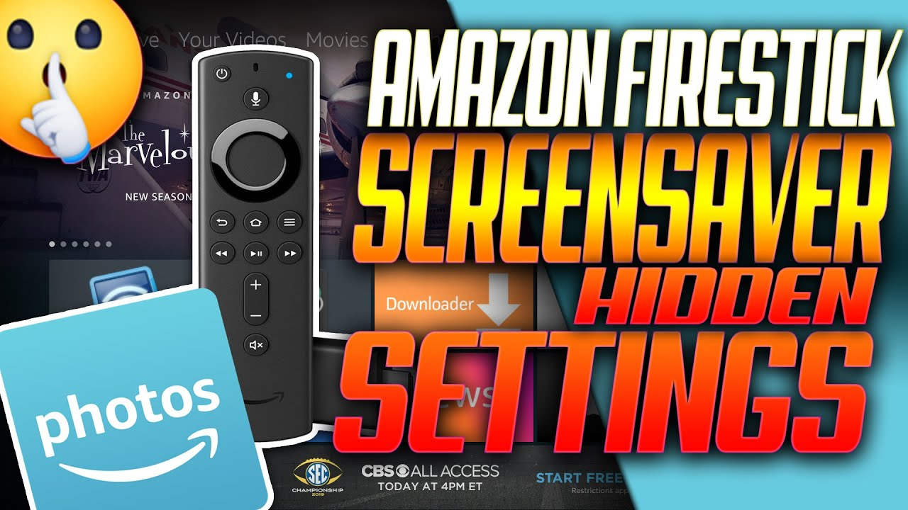 Amazon Firestick Screensaver Hidden Settings You Need To Know About Amazon Fire Tv Youtube