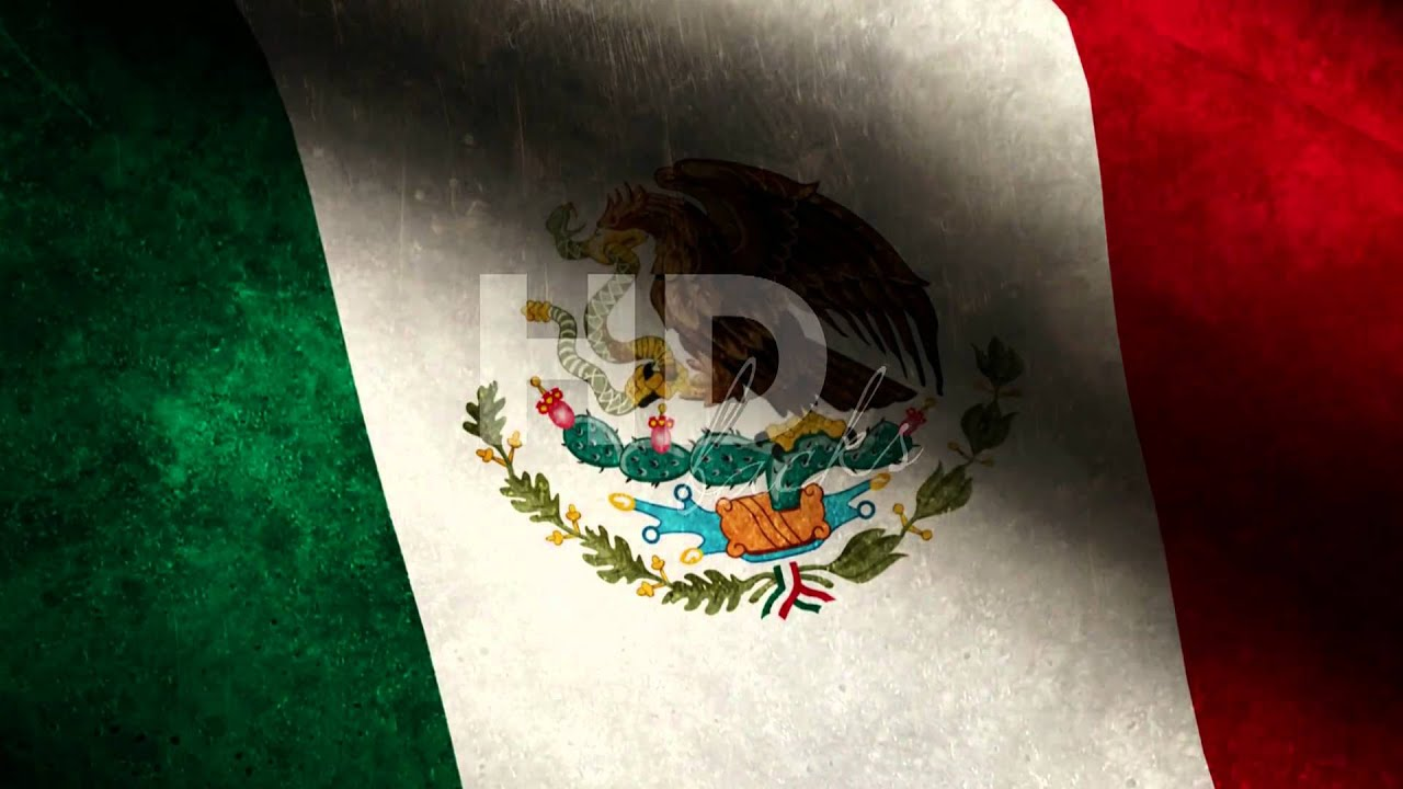 mexico flag hd background loop youtube