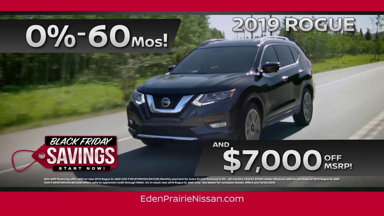 Nissan Make A Payment >> Eden Prairie Nissan Black Friday Event