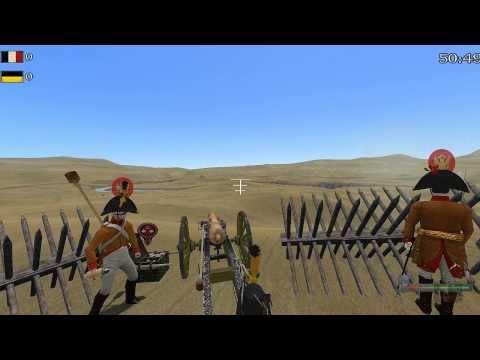 "Mount & Blade: Warband - Napoleonic Wars Live #4 ""Thrusday Line Battle Artillery Regiment Part 1"" |"